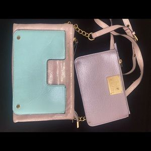 Juicy Couture cross body purse and wallet